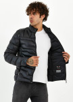 Изображение Куртка мужская рифленая черно-синяя MFStore