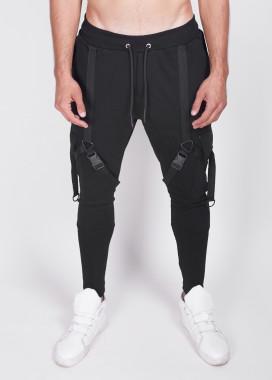 Изображение Зауженные штаны с затяжками Mfstore