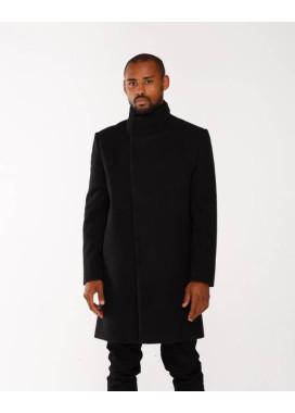 Изображение Пальто черное мужское