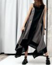 Изображение Льняное платье асимметричного кроя Lut