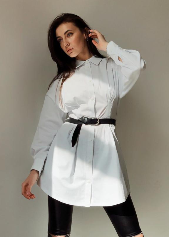 Изображение Рубашка из коттона женская