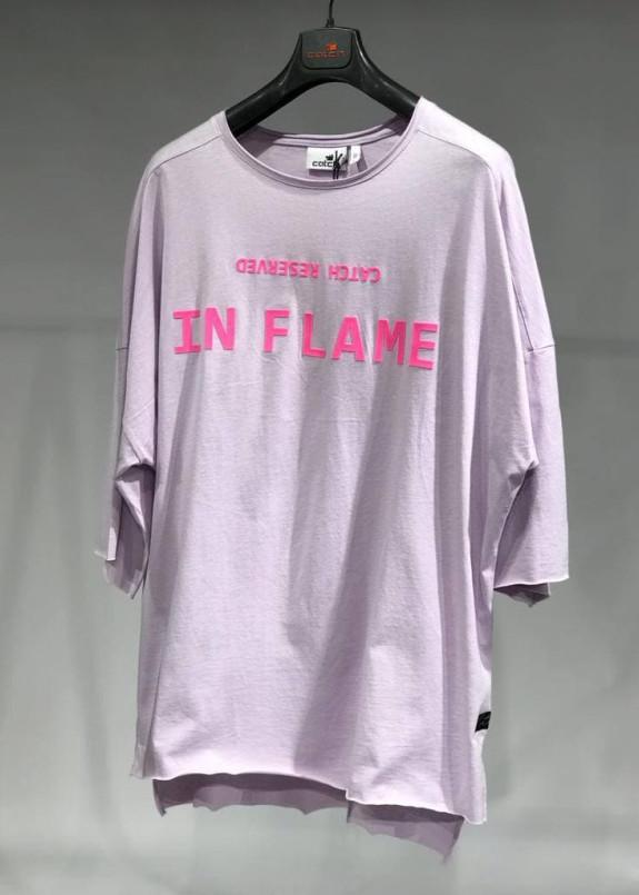 Изображение Футболка фиолетовая IN FLAME MFStore