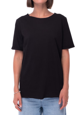 Изображение Базовая черная футболка DARCY Lut
