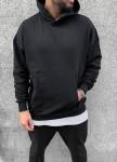 Изображение Оверсайз худи с капюшоном и карманом спереди MFStore