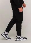 Изображение Зимние штаны карго на флисе мужские черные Тор
