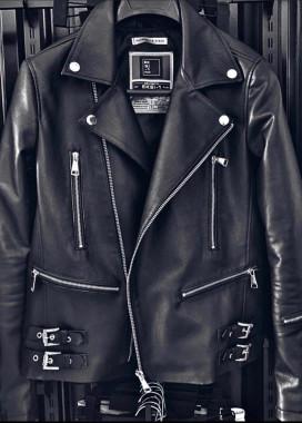 Изображение Куртка кож зам с затяжками MFStore