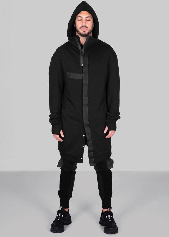 Изображение Кардиган с черными матовыми вставками MFStore