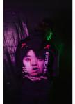 Изображение Кофта женская Gogo's Cry Black Oversized Zip Hood