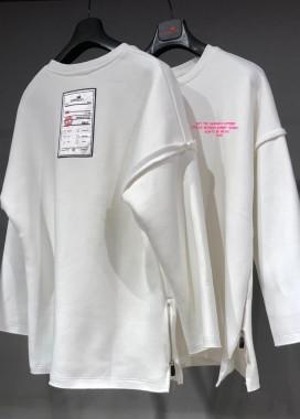 Изображение Кофта белая с укороченным рукавом MFStore