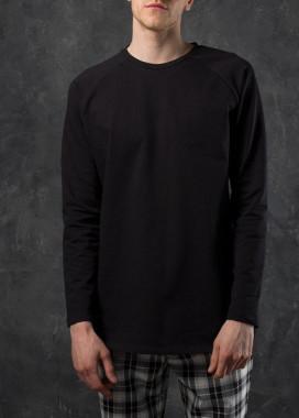 Изображение Лонгслив мужской черный Шазам Tur streetwear