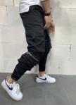 Изображение Брюки спортивные с большими карманами