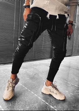 Изображение Джинсы с большими накладными карманами на молниях MFStore