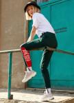 Изображение Спортивные штаны женские темно-зеленые Крид