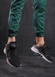 Изображение Спортивные штаны мужские зеленые с черной полоской бренд Рокки Tur streetwear