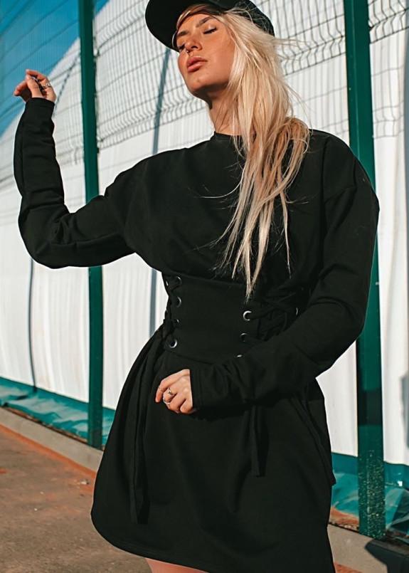 Изображение Платье женское с корсетом