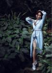 Изображение Платье-халат Sky Blue голубое She Black Limit