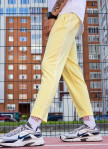 Изображение Cпортивные штаны мужские желтые Кейдж Tur streetwear