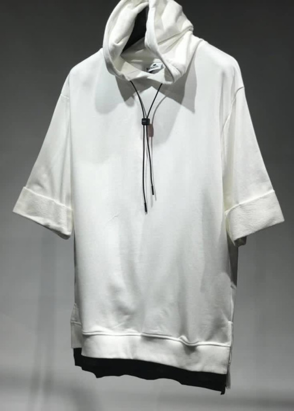 Изображение Кофта белая с коротким рукавом MFStore
