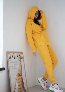 Изображение Желтый костюм на флисе
