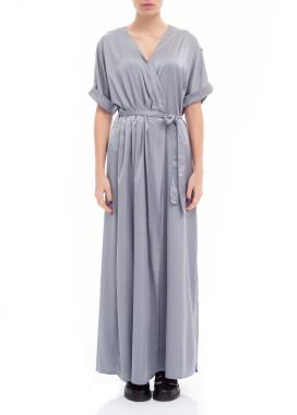 Изображение Платье - накидка серое Lut