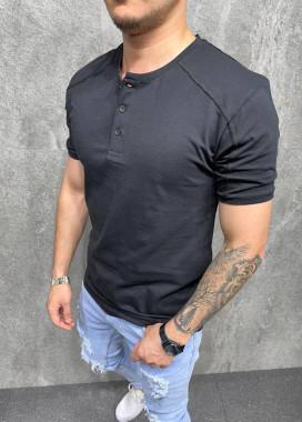 Изображение Стильная базовая футболка черная Mfstore