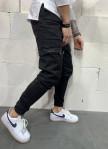 Изображение Брюки с карманами по бокам на молниях MFStore