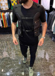 Изображение Футболка с карманами-сумками по бокам MFStore