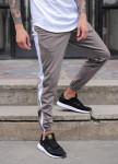 Изображение Мужские спортивные штаны серые с лампасами Рокки Tur streetwear