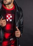 Изображение Куртка мужская кож зам без принта MFStore