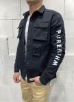 Изображение Джинсовая куртка с треугольником на спине Mfstore