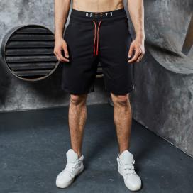 Изображение Шорты со шнурками базовые черные MFStore