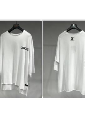 Изображение Футболка белая с буквами CTHJNS MFStore