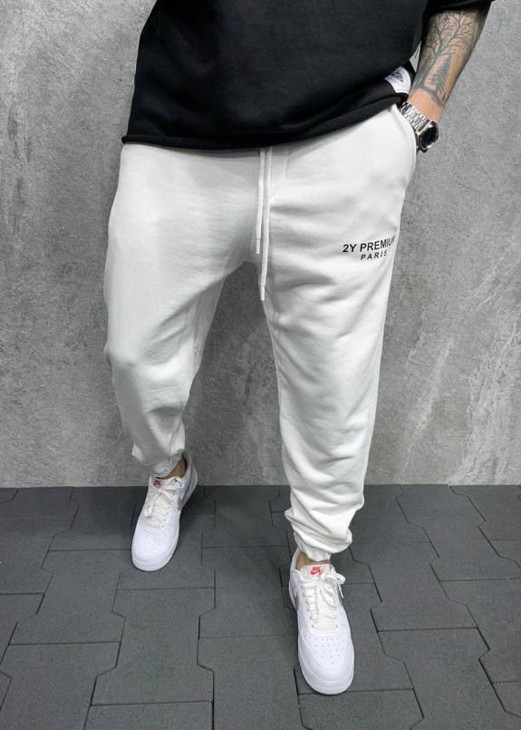 Изображение Брюки спортивные белые 2y paris MFStore