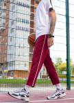 Изображение Спортивные штаны мужские бордовые Кейдж Tur streetwear