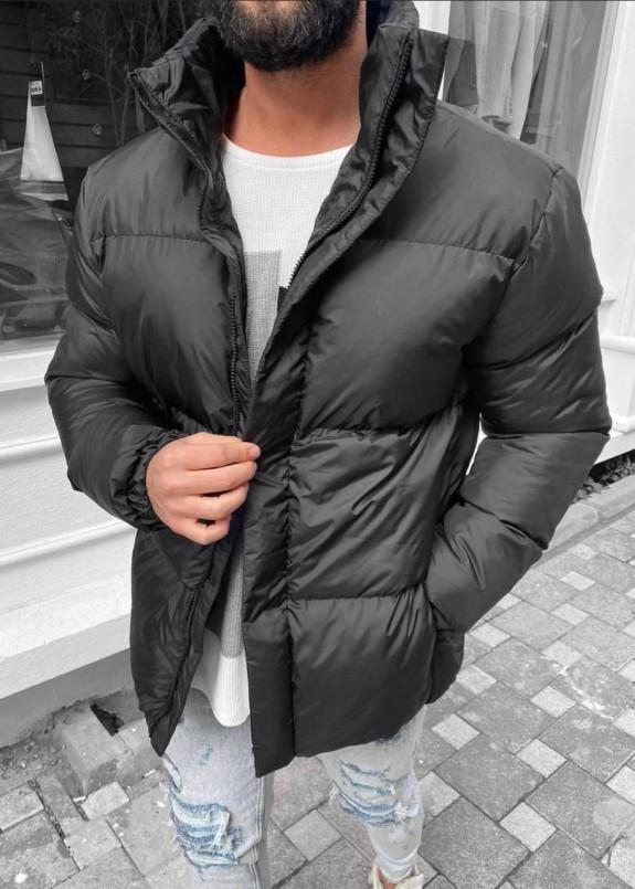 Изображение Куртка короткая оверсайз матовая
