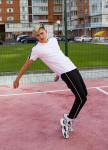 Изображение Спортивные штаны с полосками мужские черные Кейдж Tur streetwear
