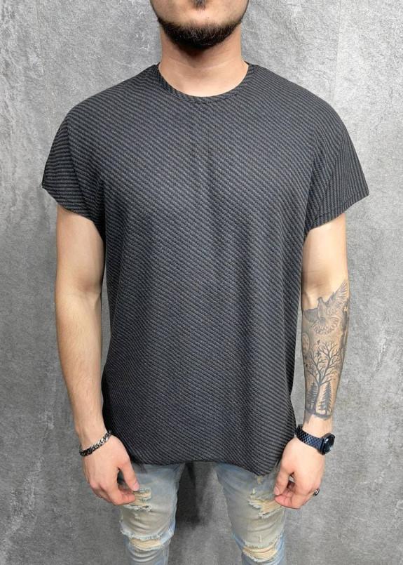 Изображение Асимметричная футболка с рифлением MFStore