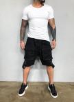 Изображение Шорты с накладными карманами и шлейками Mfstore