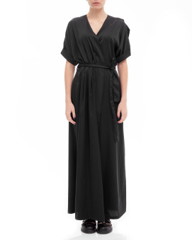 Изображение Платье - накидка черное Lut