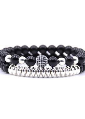 Изображение Комплект браслетов серебро Sparkling