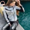 Изображение Женская серебряная куртка 452