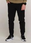 Изображение Зимние штаны карго на флисе мужские черные Грут