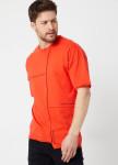 Изображение Асимметричная  красная футболка со швом MFStore