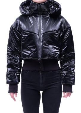 Изображение Утепленная куртка с авторским принтом