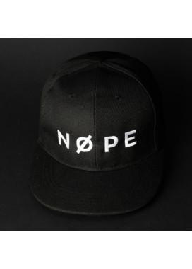 Изображение Снепбек мужской с вышивкой NOPE черный Black Limit
