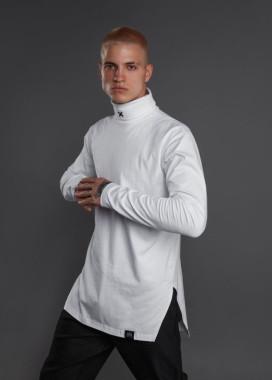 Изображение Гольф мужской с вышивкой Х белый