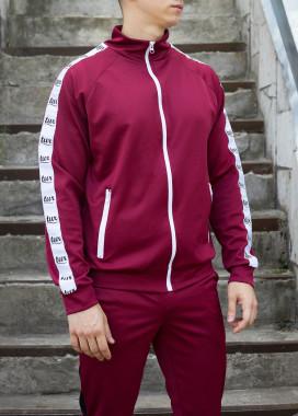 Изображение Мастерка олимпийка мужская бордовая Смоук Tur streetwear