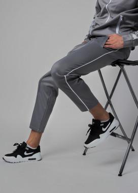Изображение Спортивные штаны мужские серые Кейдж Tur streetwear