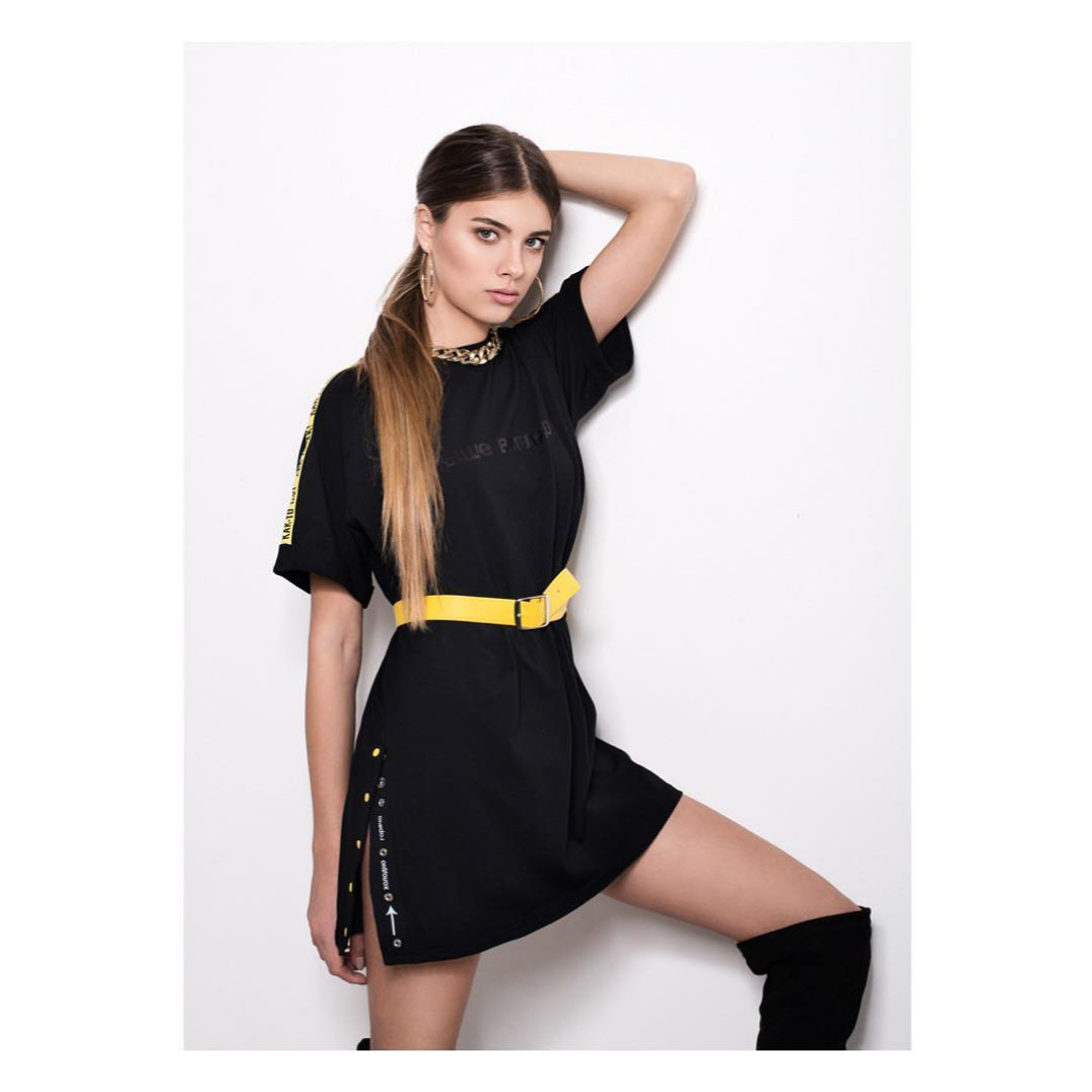 a159ccafbd7a Платье-футболка Street style