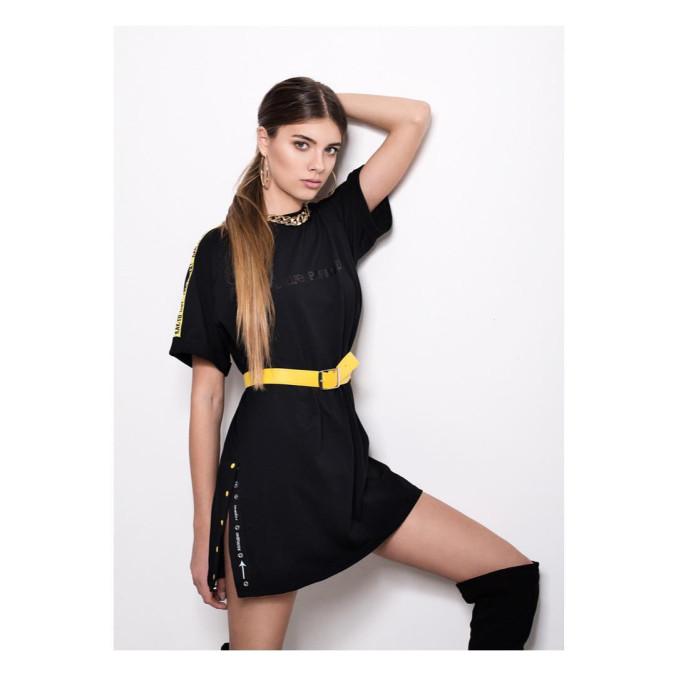 Изображение Платье-футболка Street style